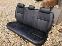 Hilux invincible leather seats