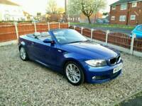 BMW 1 Series 120D M sport (58) Convertible Full Service History NOT 320D, 520D