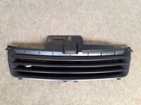 VW POLO BLACK DE-BADGED SPORTS BONNET FRONT GRILL FOR 9N 2001 - 2005 RRP £130