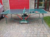 Kettler Indoor Table Tennis Table