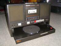 vintage panasonic J550L boombox