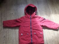 Boys red coat age 3 years from Next