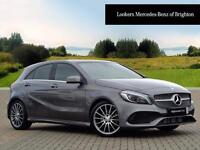 Mercedes-Benz A Class A 180 D AMG LINE PREMIUM PLUS (grey) 2016-09-07