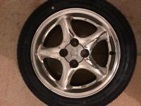 "Mazda 10th Anniversary 15"" Chrome Wheels"