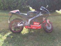 aprilia rs125 full power