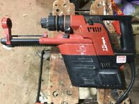 Hilti TE5. Heavy Duty Power Drill & TE5-DRS Dust Collection System