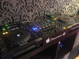 Pioneer CDJ 900 x2 & DJM 850k
