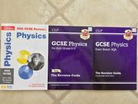 NEW GCSE 9-1 AQA PHYSICS REVISION AND PRACTICE TEXTBOOKS AND WORKBOOKS