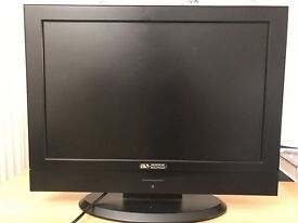 """19"""" LCD television with built in DVD player"""