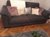 Ikea tidafors 3 seater sofa in he sat grey
