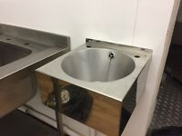 11 piece commercial kitchen tables and sinks
