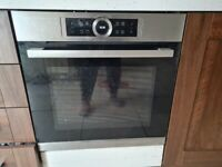 Kitchen Units, Oven and Fridge Freezer and Extractor