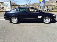 08 Vw Passat 2.0 tdi highline dsg auto Rossendale plated taxi hackney full leather ready for work