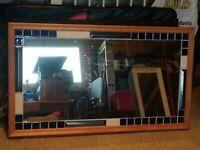Mirror in frame