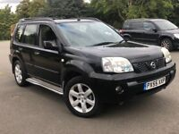 2005 Nissan X-trail 2.2 dci sport 5dr SUV diesel,SIDE STEPS,PANORAMIC ROOF,NAVIGATION SYSTEM,TOW BAR