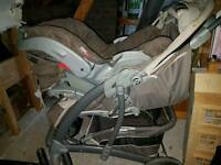 Graco travel buggy system
