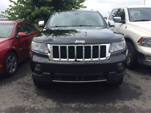 2012 Jeep Grand Cherokee OVERLAND, AWD, TOIT PANORAMIQUE CUIR GP