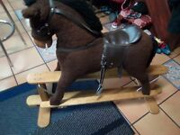 Child's rocking horse up to age 6 years