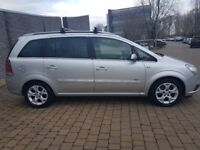 VAUXHALL ZAFIRA 1.8 16V DESIGN 77K WITH F/M/D/S/H 12 MONTH MOT IN EXCELLENT CONDITION