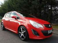 JUNE 2011 VAUXHALL CORSA SRI 5DOOR 1.4 16v PETROL FLAME RED DIAMOND ALLOYS ! FULL VAUXHALL HISTORY !