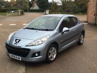 Peugeot 207 1.4 Verve (2009) 65,000 miles - Petrol - Manual - 3 door - FSH + New Cambelt - Warranty