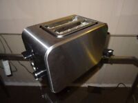 2 slides toaster Tesco with less than 1 year!