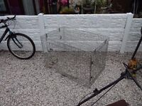 Xl Galvanised Metal Dog Cage / Dog Cage / Pet Cage / Dog Crate / Animal Cage /