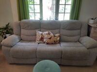3 seater sofa electric recliner