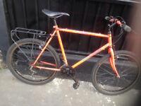mountain bike Supernova orange multicolor 18 speed