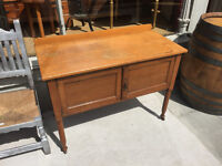 Vintage Sideboard Size L 41in D 20in H 30in, free local delivery