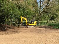 Sand/Gravel, Fencing, Turf Topsoil Mini diggers/dumpers South Norfolk/North Suffolk ☎️ 01379 898894
