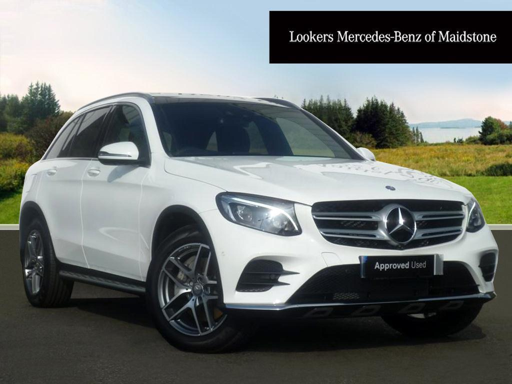 mercedes benz glc class glc 250 d 4matic amg line premium white 2016 03 10 in maidstone. Black Bedroom Furniture Sets. Home Design Ideas