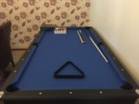 7ft Pool Table, MDF