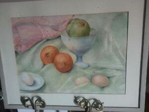 Still Life Watercolour Painting by E. Blackstock