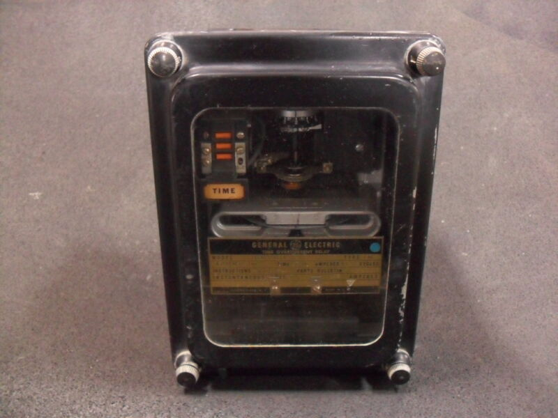 USED General Electric 12IAC77A11A Time Overcurrent Relay Extremely Inverse