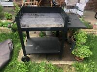 Charcoal barbecue BBQ grill, collapsible, RRP £110