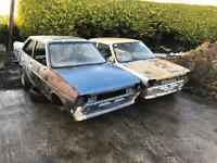 Ford Fiesta Mk1 XR2 for breaking all parts available