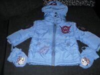 boys designer jacket 18/24 months