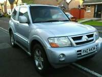 "Shogun 3.2 DiD warrior 5 new 18"" tyres & recon fuel pump"