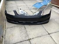 Honda Civic type r facelift front bumper and lights