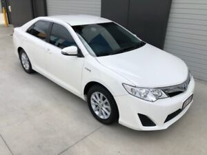 1 OWNER NON SMOKER 2014 TOYOTA HYBRID HTOYOTA CAMRY TRAVELLED VERY LOW KMS  Eagle Farm Brisbane North East Preview