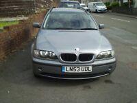BMW 318I TOURING SPARE/REPAIR 2003