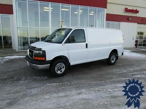 2015 GMC Savana G2500 Cargo Van w/Chrome Package w/9,925 Kms