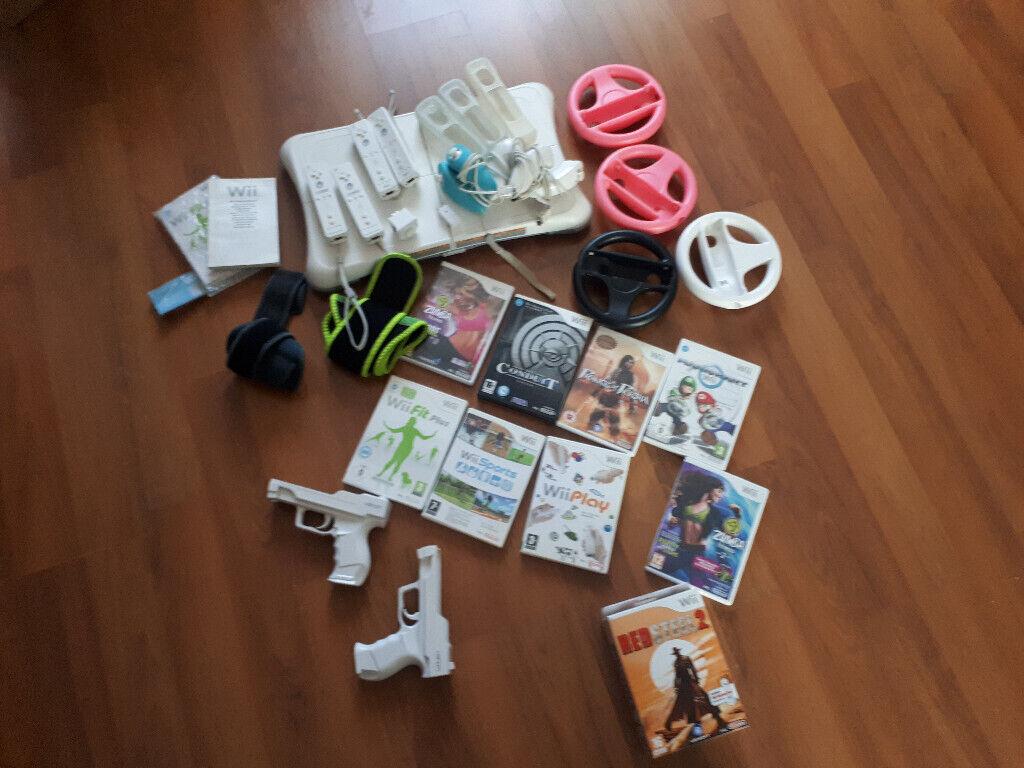 Nintendo Wii  Lots of accessories and games | in Swindon, Wiltshire |  Gumtree