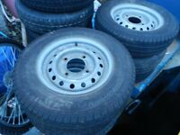 INDESPENSION TRAILER WHEELS FOR SALE