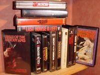 Wanted vhs/betamax/v2000 films