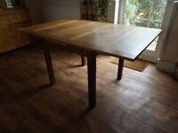 Solid Oak Vintage Extendable Table
