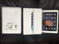 iPad Air Wi-Fi 16GB Silver Boxed With Everything in Excellent Condition