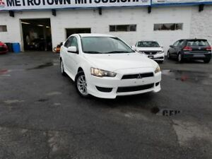 2013 Mitsubishi Lancer SE; Bluetooth, Rear spoiler, alloy wheels