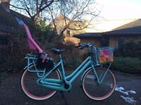 Nearly new Gazelle Heavy Duty cargo bike and Yepp kids seat, 7 gears, 18 months old (seat 3 mths)